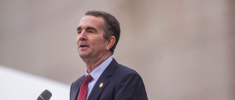 Governor Northam Speaks At Unveiling Of Kehinde Wiley Statue At Virginia Museum Of Fine Arts