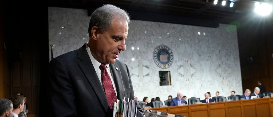 Justice Dept Inspector General Michael Horowitz Testifies Before Senate Judiciary Committee On FISA Report