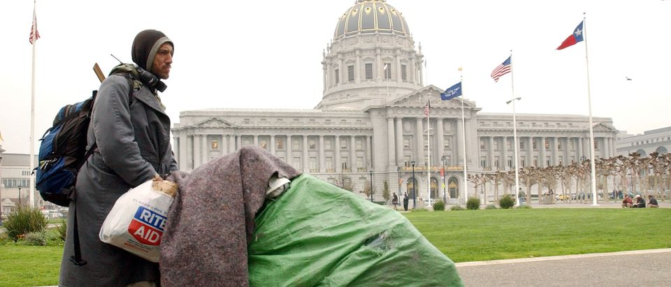 Homelessness On The Rise In San Francisco