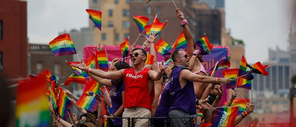 New Yorkers Celebrate Gay Pride With Annual Parade