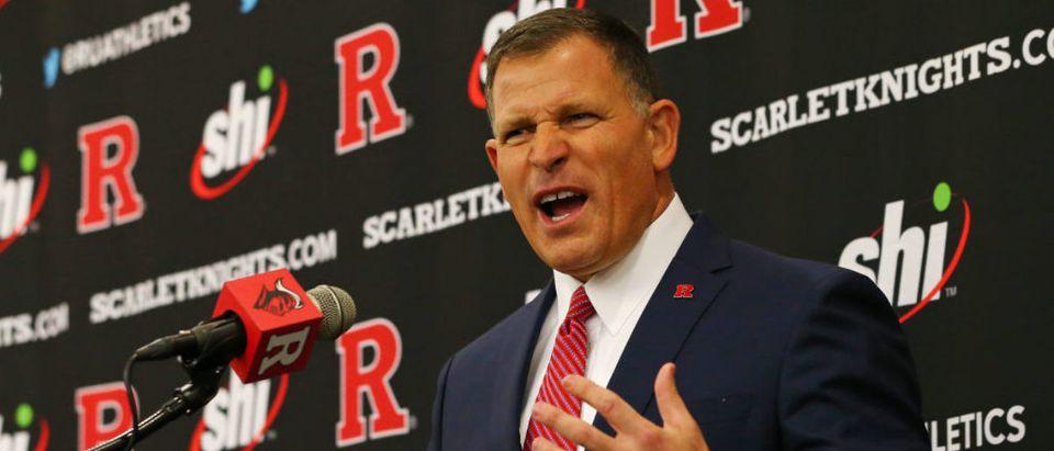 Rutgers Introduces Greg Schiano