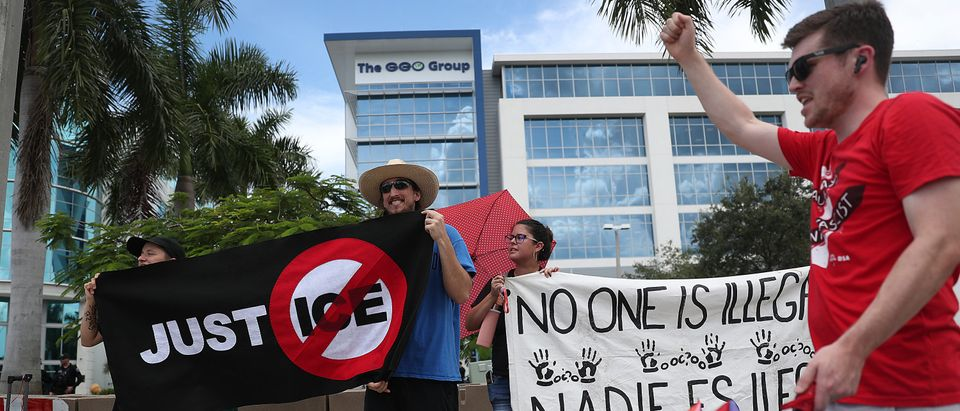Jewish Activists Protest Housing Of Migrants At Detention Centers