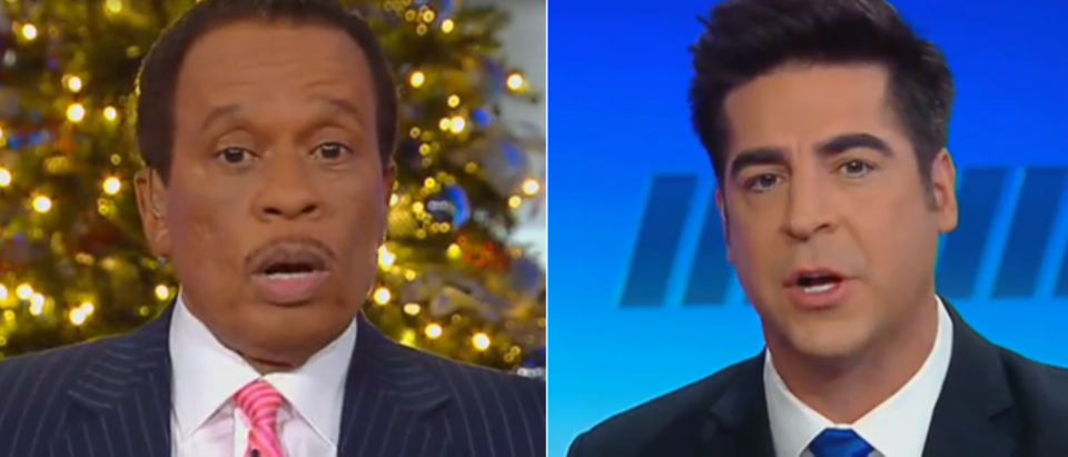 Jesse-Watters-and-Juan-Williams-debate-West-Point-cadets-accused-of-racism-Fox-News-screengrab