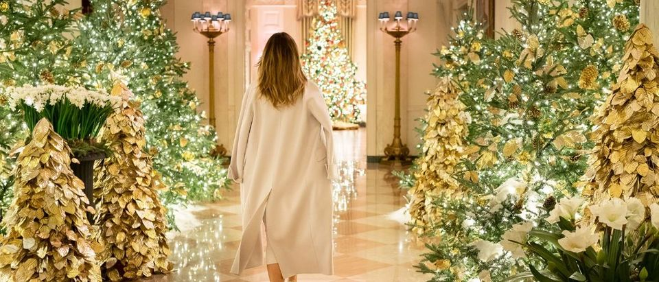 Melania Trump Christmas Trees