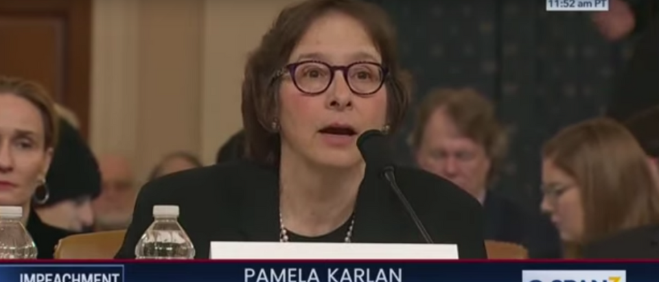 Witness Pamela Karlan Uses Son Barron To Attack Trump