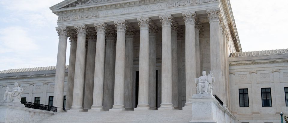 The Supreme Court as seen on October 7, 2019. (Saul Loeb/AFP/Getty Images)