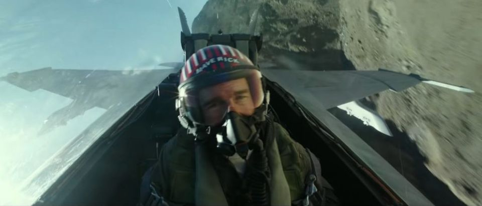 Top Gun: Maverick (Credit: Screenshot/Twitter Video https://www.youtube.com/watch?v=g4U4BQW9OEk)