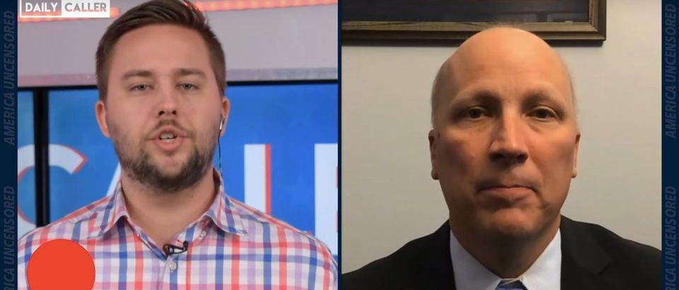 Republican Texas Rep. Chip Roy speaks with the Daily Caller. (Daily Caller)