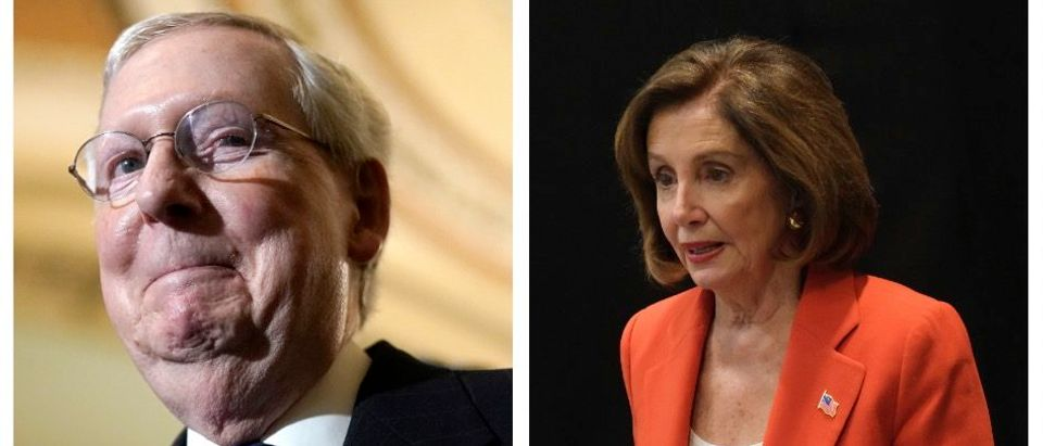Mitch McConnell, Nancy Pelosi (Getty Images)