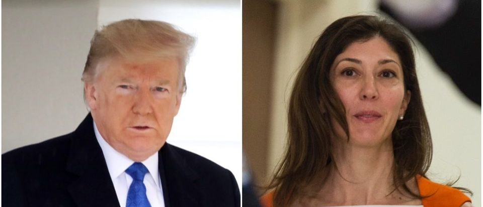 Left: President Donald Trump (Getty Images), Right: Former FBI agent Lisa Page (Getty Images)