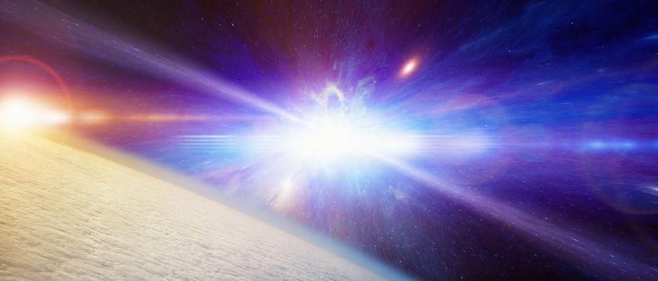 Supernova. (Shutterstock/IgorZh)