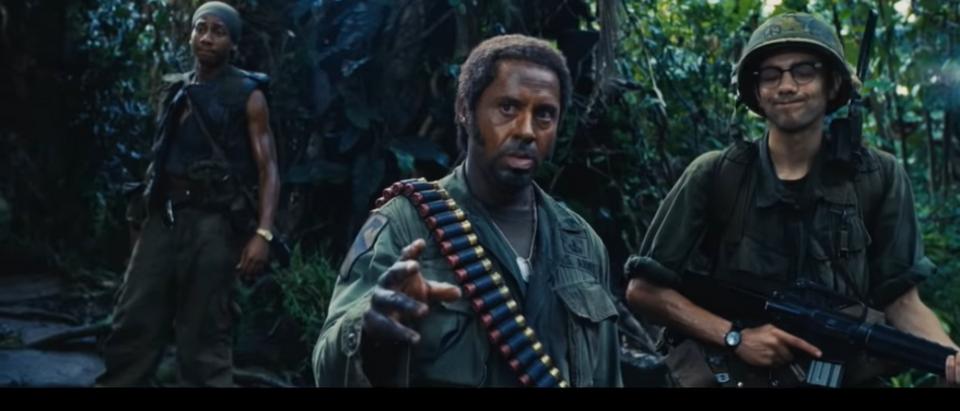 Robert Downey Jr./ Tropic Thunder/ Youtube Screenshot/ 1-23-2020