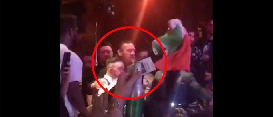 Conor McGregor (Credit: Screenshot/Twitter Video https://twitter.com/marc_raimondi/status/1218855093967048704)