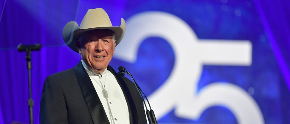 Foster Friess speaks onstage during Celebrity Fight Night XXV on March 23, 2019 in Phoenix, Arizona. (Amy Sussman/Getty Images for Celebrity Fight Night)