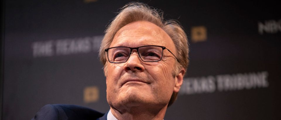 MSNBC's Lawrence O'Donnell smiles after making a joke during a panel at The Texas Tribune Festival on September 28, 2019 in Austin, Texas. (Sergio Flores/Getty Images)