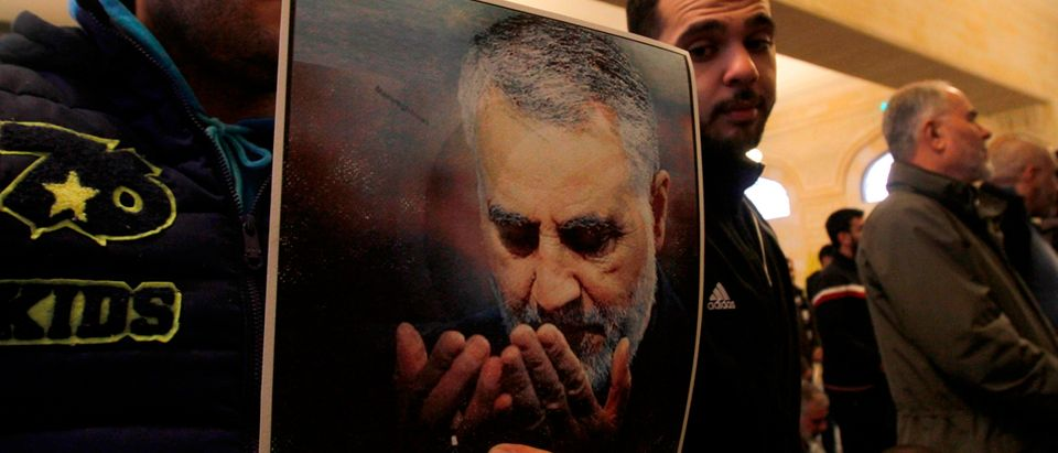 Iranian Revolutionary Guards Major General Qasem Soleimani is pictured. (Photo: MAHMOUD ZAYYAT/AFP via Getty Images)
