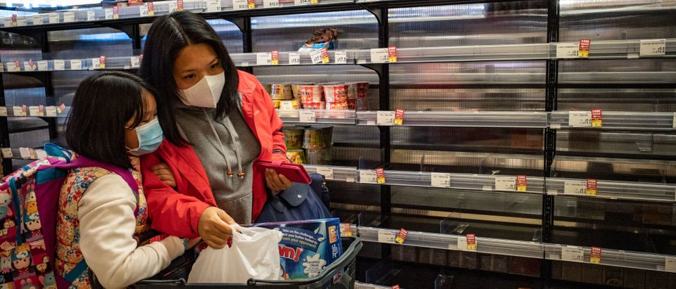 China's Wuhan Coronavirus Spreads In Hong Kong(Photo by Anthony Kwan/Getty Images)