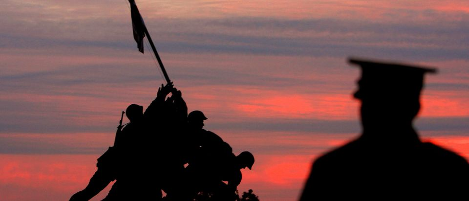 Sunrise At Iwo Jima Memorial