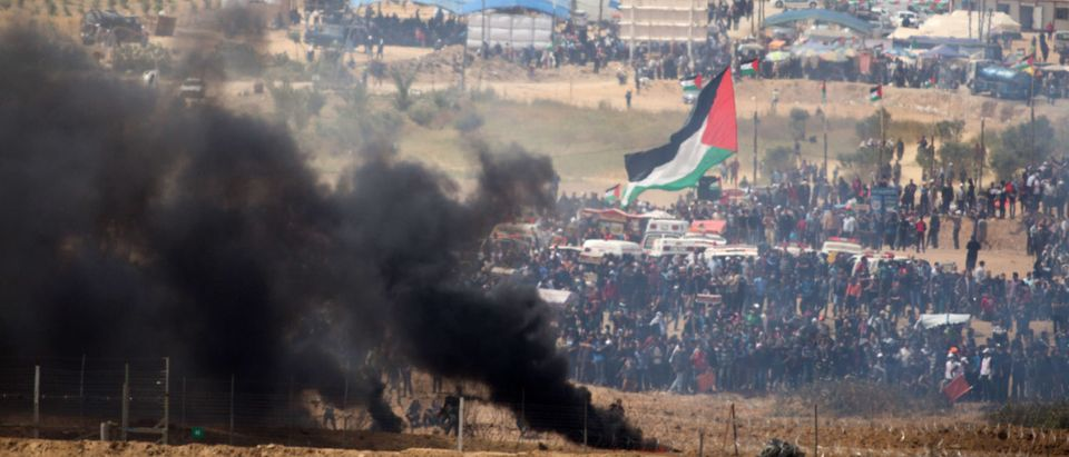 Riots on Israel-Gaza Border