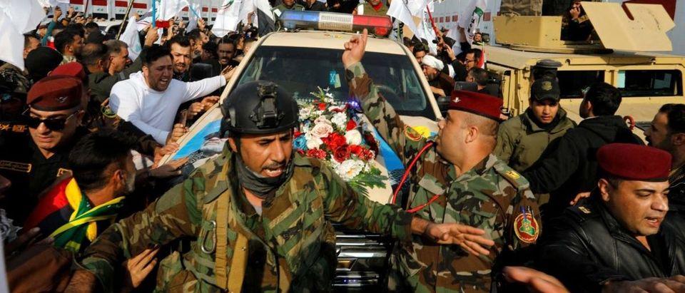 Iranian general funeral