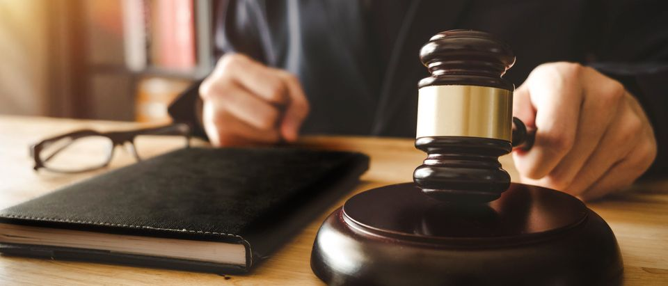 A judge is pictured. Shutterstock