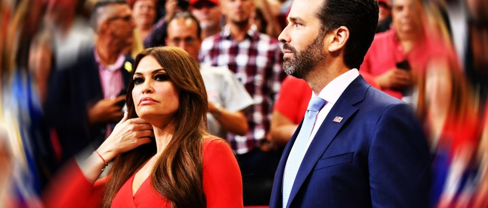 Kimberly Guilfoyle, Donald Trump Jr.