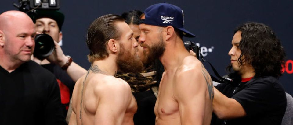 UFC 246 McGregor v Cowboy: Weigh-Ins