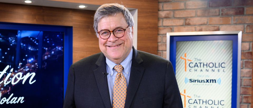 Attorney General William Barr Sits Down With Cardinal Timothy Dolan, Host Of The Catholic Channel's 'Conversation With Cardinal Dolan'