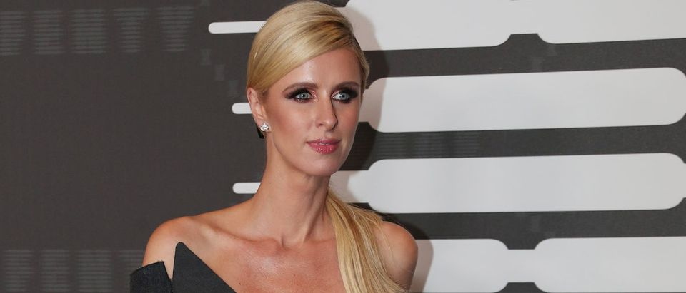 Nicky Hilton poses on the red carpet of Rihanna's new Savage X Fenty collection show for New York Fashion Week at the Barclays Center in the Brooklyn borough of New York, U.S., September 10, 2019. REUTERS/Shannon Stapleton