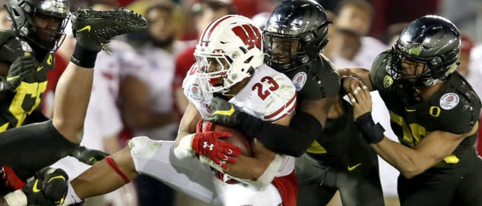 Rose Bowl Game presented by Northwestern Mutual - Oregon v Wisconsin