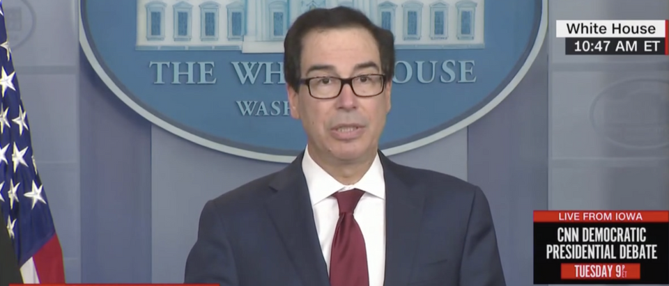 Sec. of Treasury Steven Mnuchin announced the specific sanctions against Iran following missile attacks by the country. (CNN, CNN Newsroom With Poppy Harlow and Jim Sciutto)