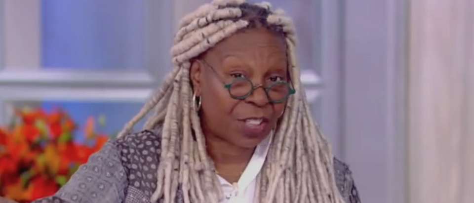 "Whoopi Goldberg appears on ""The View."" Screen Shot/ABC"