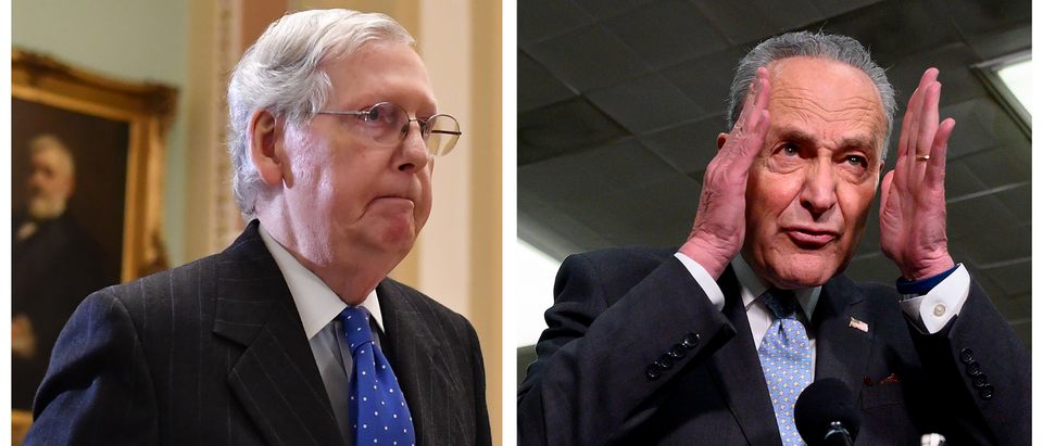Mitch McConnell, Chuck Schumer (Getty Images)