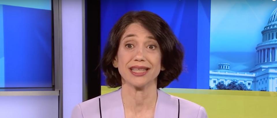 Washington Post's Jennifer Rubin attacked the Conservative party on Twitter Thursday. (Screenshot YouTube MSNBC, https://www.youtube.com/watch?v=69iXX6vovIM)