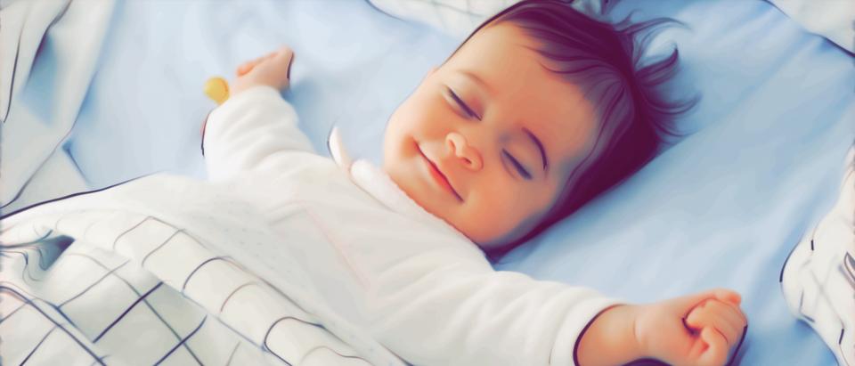 Sleeping baby. (Shutterstock/Javi_Indy)