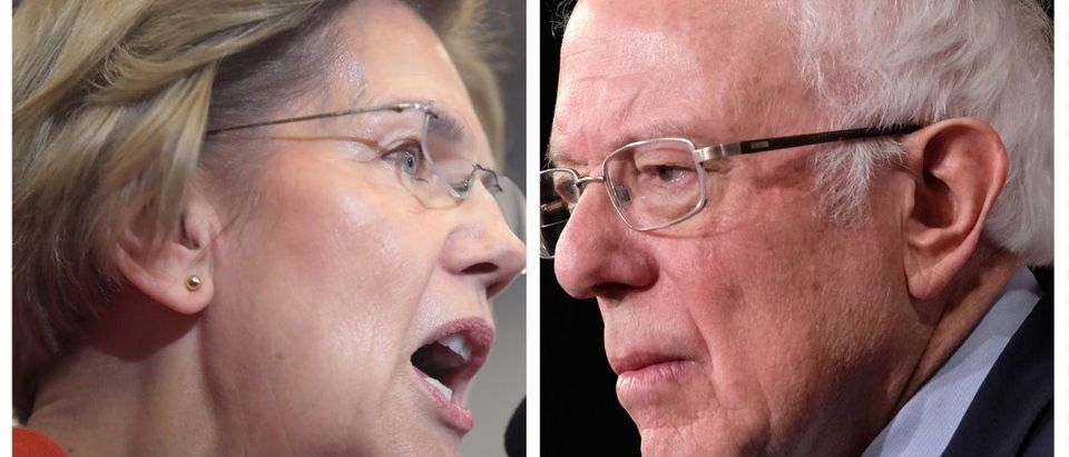 Elizabeth Warren, Bernie Sanders (Getty Images)