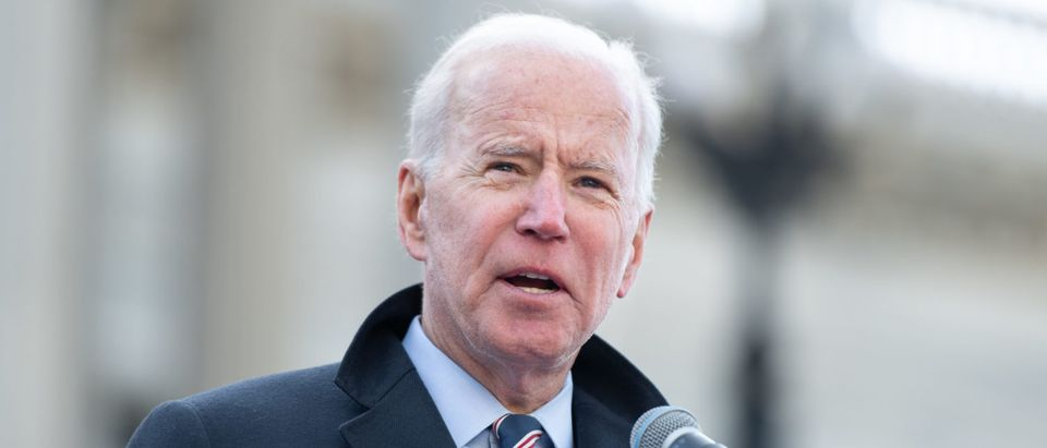 Democratic presidential candidate and former Vice President Joe Biden is pictured. (Sean Rayford/Getty Images)