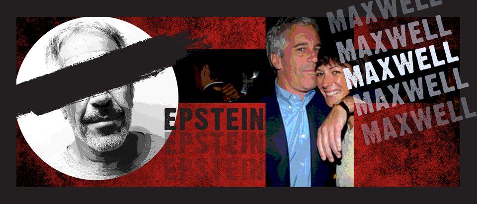 Jeffrey Epstein, Ghislaine Maxwell (Getty Images, Daily Caller)