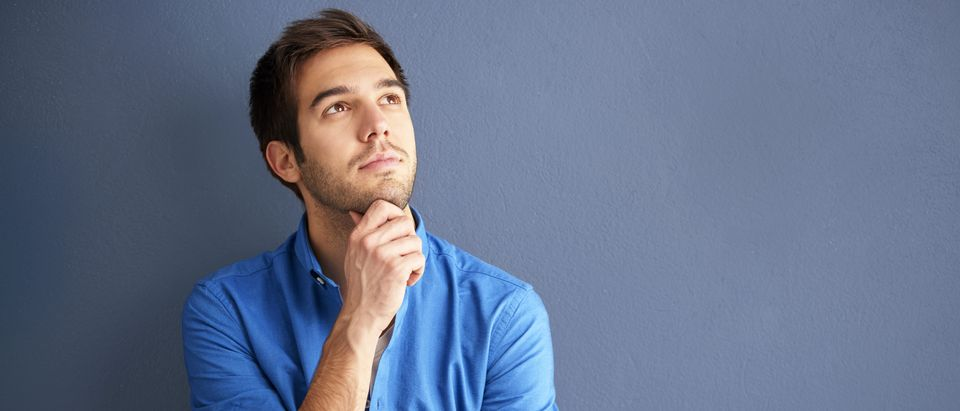 Man thinking (Shutterstock)