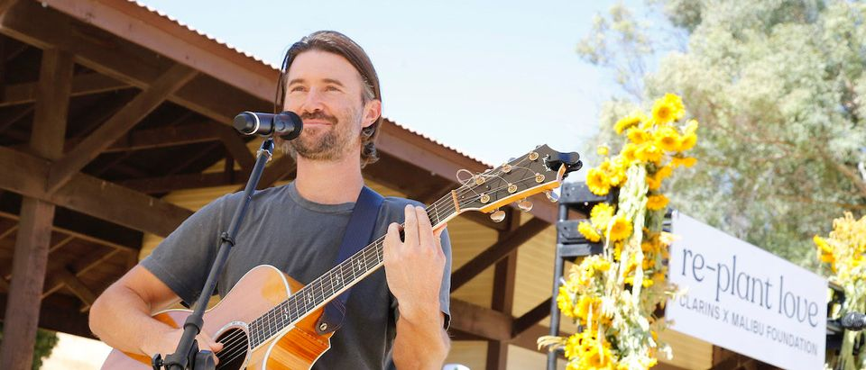 Brandon Jenner performs onstage as Clarins And The Malibu Foundation Host Replant Love at Paramount Ranch on October 12, 2019 in Agoura Hills, California. (Photo by Rachel Murray/Getty Images for Clarins and The Malibu Foundation )