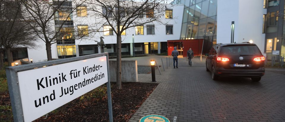 GERMANY-HEALTH-CHILDREN-HOSPITAL-POLICE-CRIME