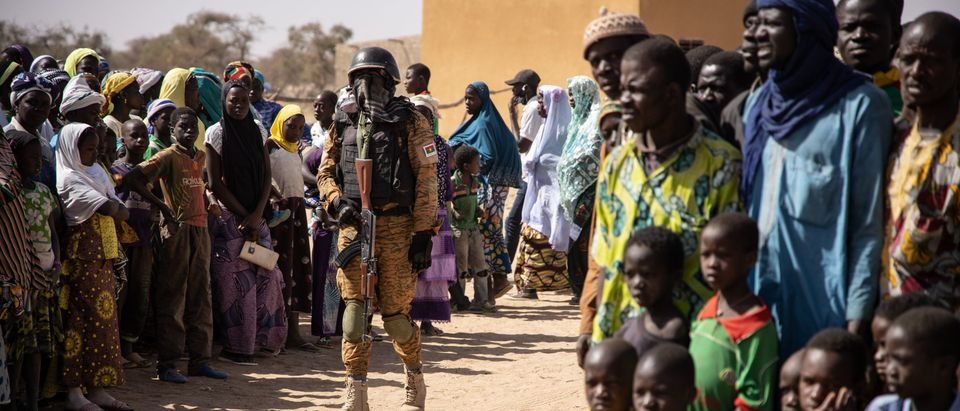 BURKINA-MALI-UNREST-REFUGEES