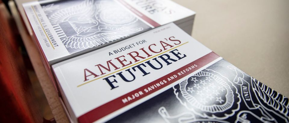 President Trump's 2021 Budget Is Printed At The Government Publishing Office