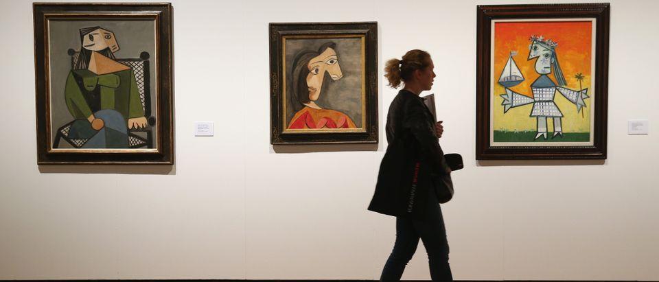 Picasso painting exhibit
