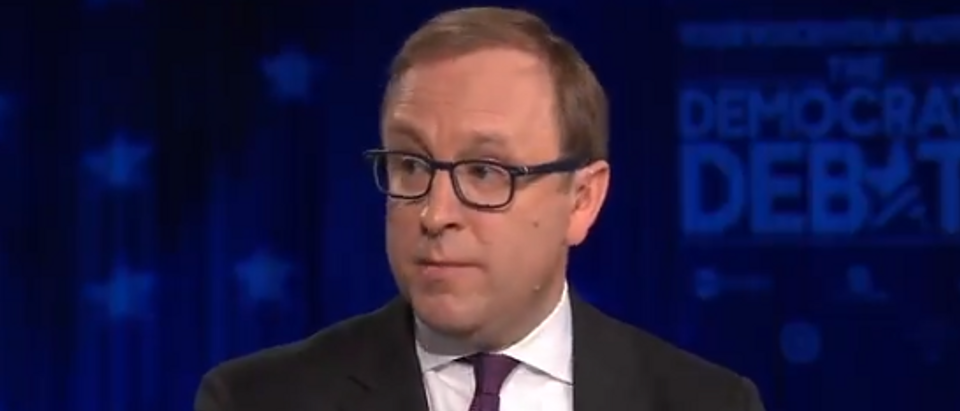 Jon Karl analyses Democratic debate (ABC screengrab)