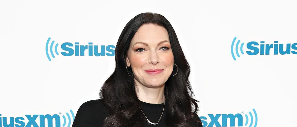 Actress Laura Prepon visits the SiriusXM studio on July 26, 2019 in New York City. (Photo by Cindy Ord/Getty Images for SiriusXM)