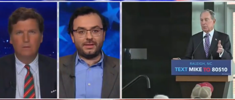 Michael Tracey analysis Bloomberg campaign (Fox News screengrab)