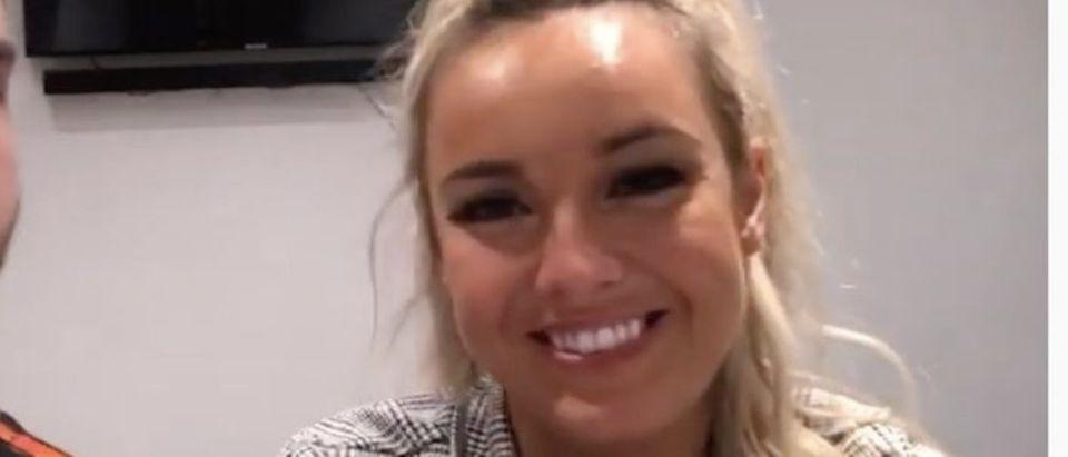 Miss Great Britain (Photo: YouTube Screenshot)