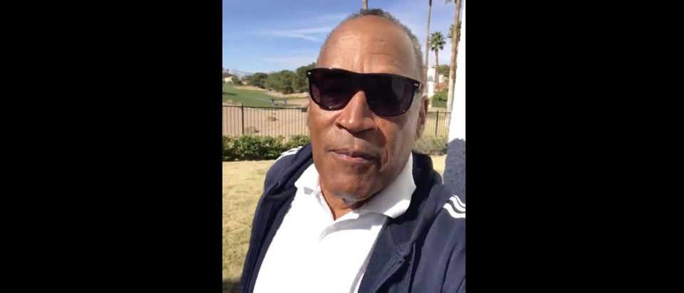 OJ Simpson (Credit: Screenshot/Twitter Video https://twitter.com/TheRealOJ32/status/1229841514097864705)