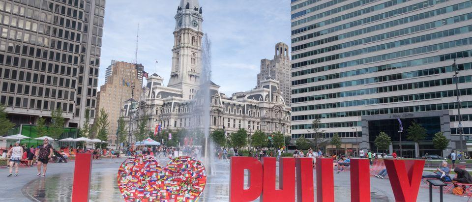 Philadelphia Sign. Shutterstock